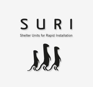 Siguiente<span>SURI Shelter Units for Rapid Installation •</span><i>→</i>